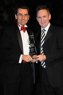 Cheesy Award Photo